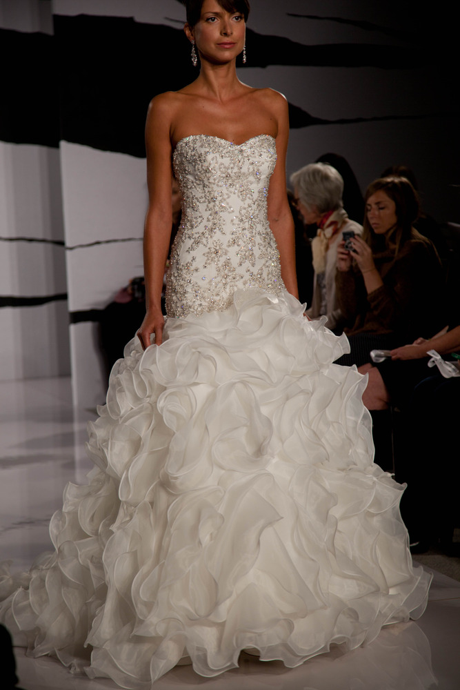 Dennis Basso - Sweetheart Mermaid Gown in Organza | <3<3<3 ...
