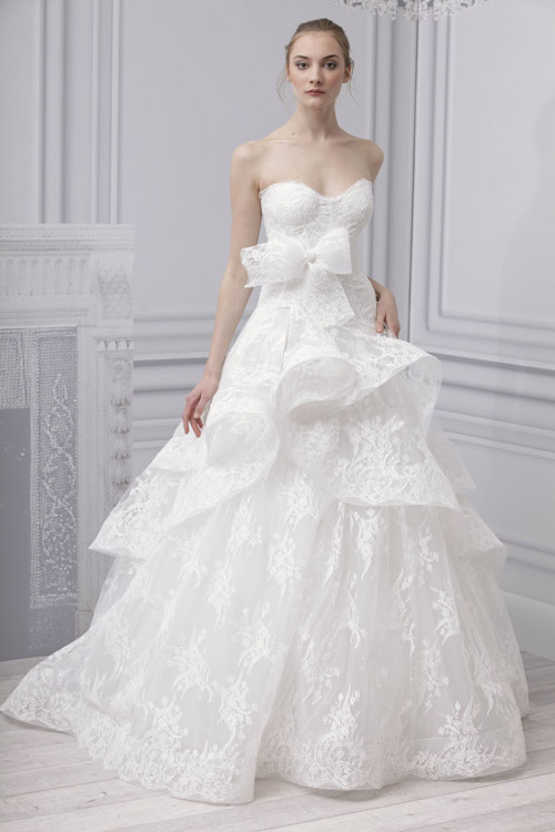 Spring 2013 collection full of romantic feminine and ethereal gowns